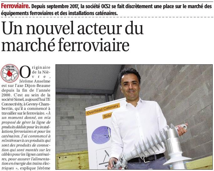 "OCS2 is in the ""Journal du Palais"""